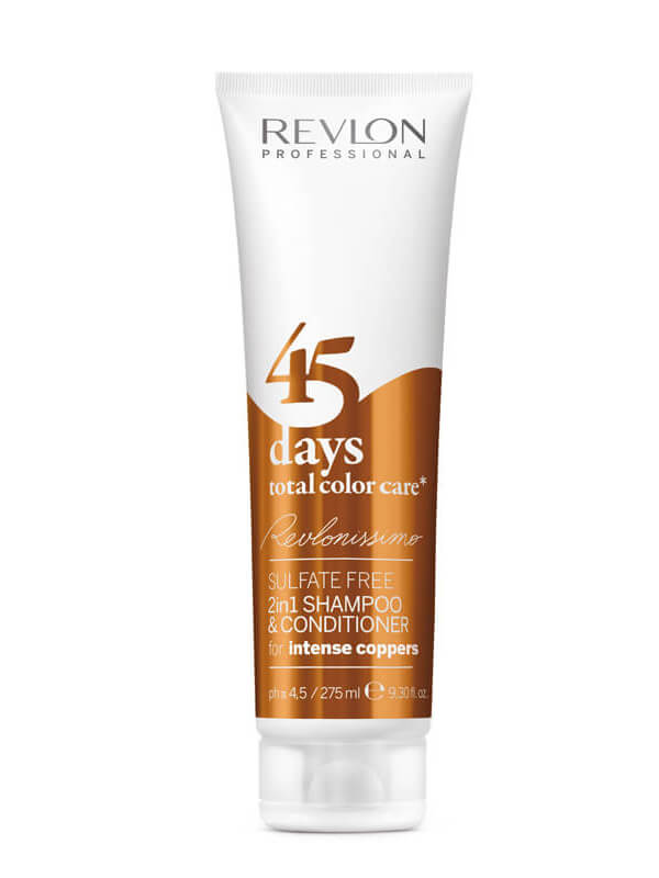 Revlon Professional 45 Days Sampoo And Conditioner Intense Coppers (275ml)