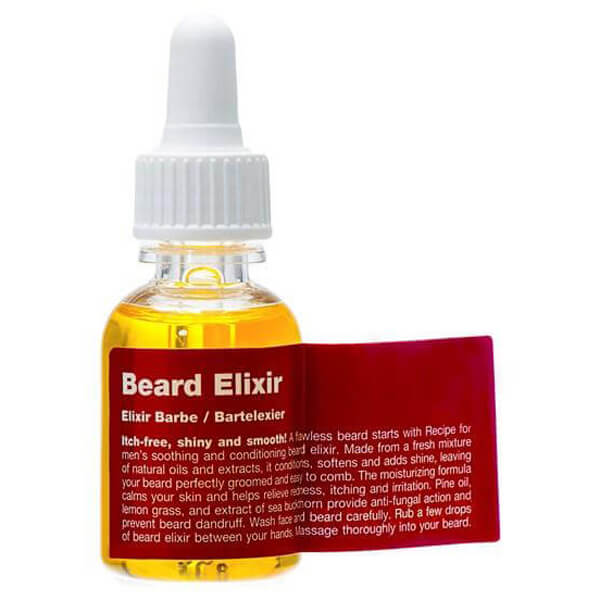 Recipe for men Beard Elixir i gruppen Mann / Barbering & grooming / Groomingolje & voks hos Bangerhead.no (B009617)