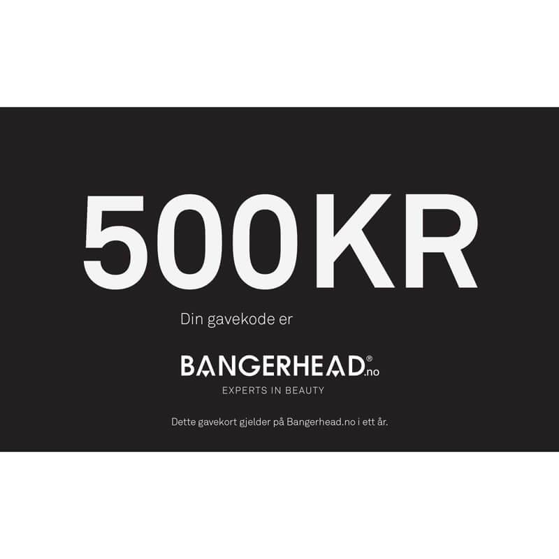 Bangerhead Gavekort 500 kr
