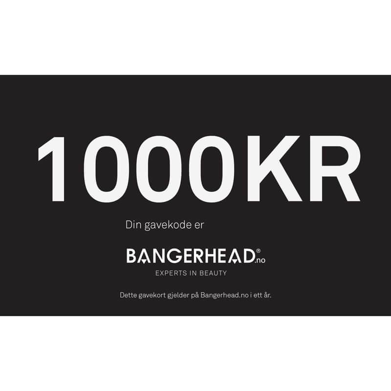 Bangerhead Gavekort 1000 kr