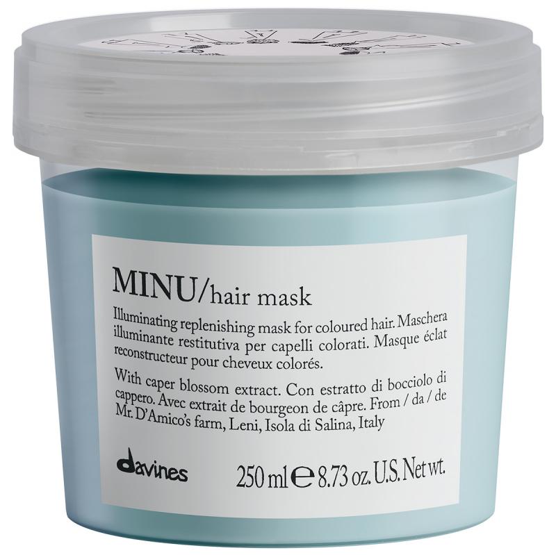 Davines Minu Hair Mask (250ml) i gruppen Hårvård / Inpackning & treatments / Inpackning hos Bangerhead (B009869)