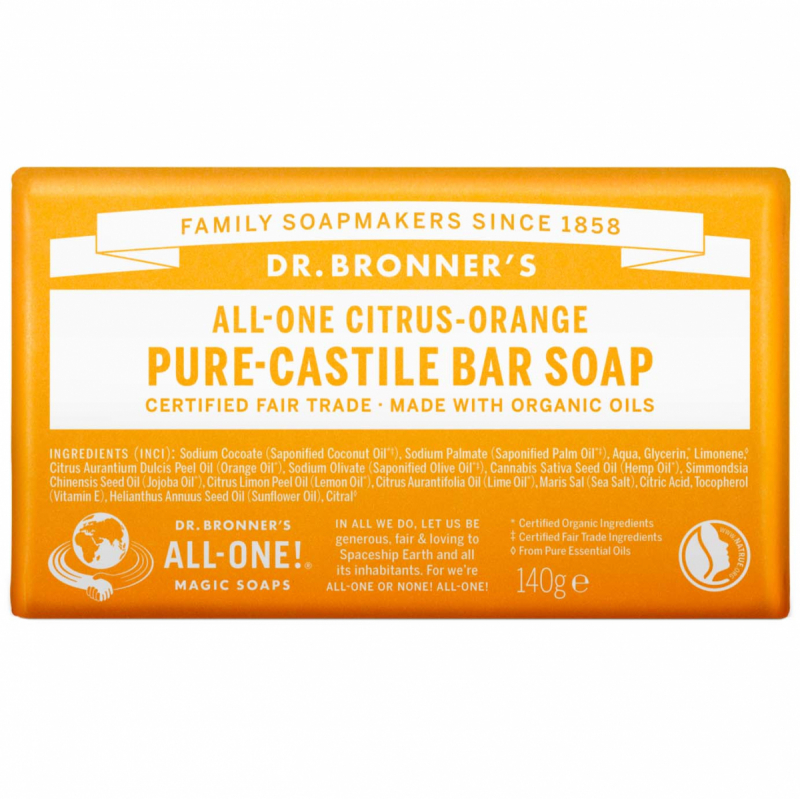 dr. Bronner's Barsoap - Citrus-Orange