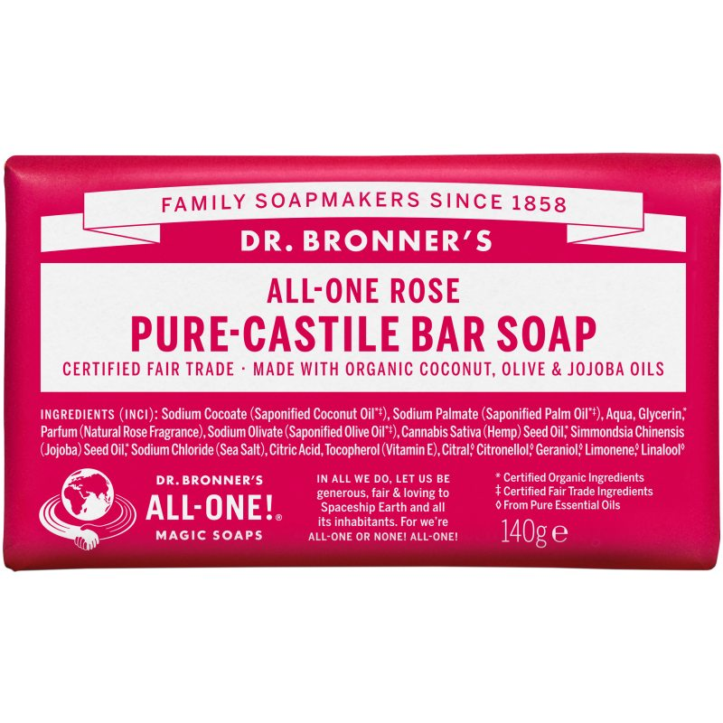 dr. Bronner's Barsoap - Rose