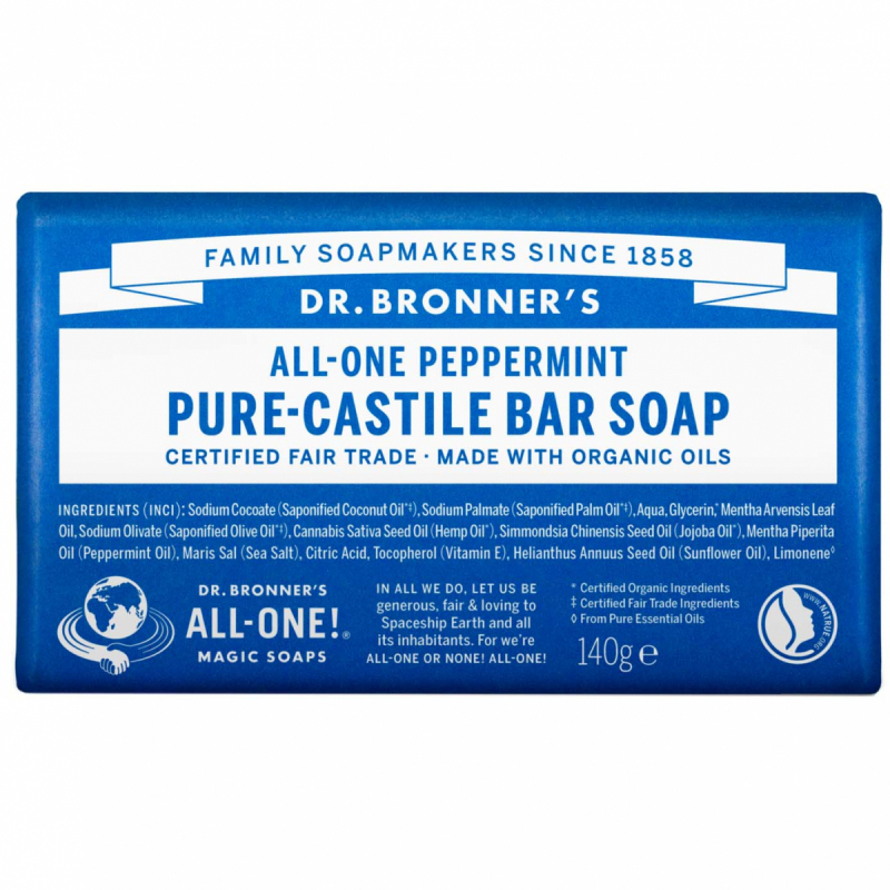 dr. Bronner's Barsoap - Peppermint