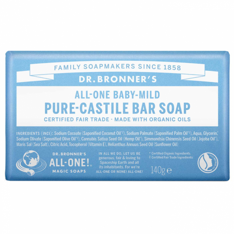 dr. Bronner's Barsoap - Neutral-Mild