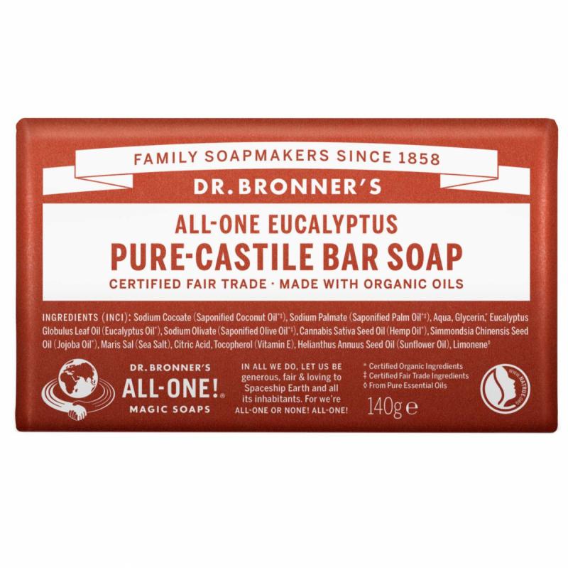 dr. Bronner's Barsoap - Eukalyptus