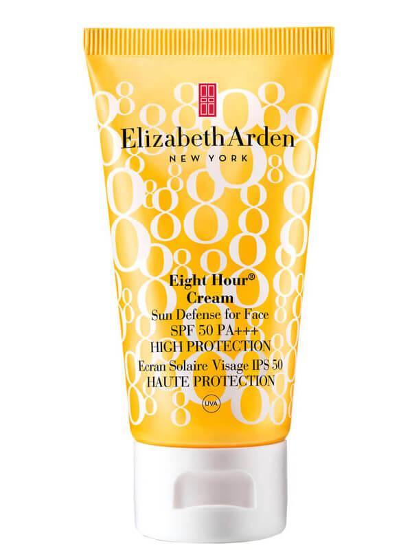Elizabeth Arden Eight Hour® Cream Sun Defense for Face SPF 50 (50mI) i gruppen Hudpleie / Sol & tan for ansikt / Solkrem & hudkrem med SPF hos Bangerhead.no (B010250)