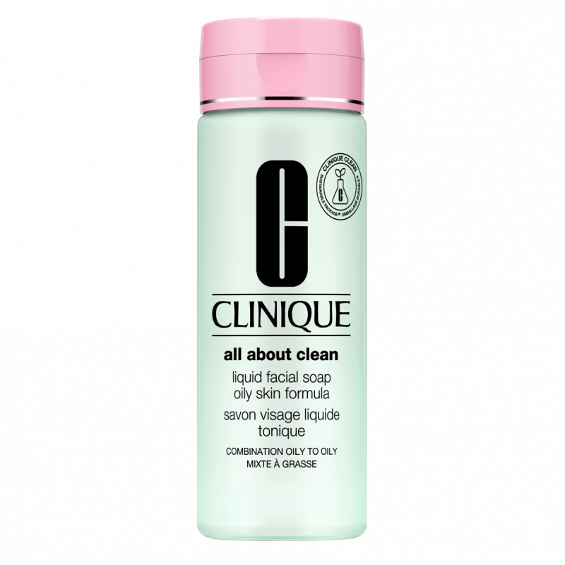 Clinique Liquid Facial Soap Oily Skin Formula (200ml)