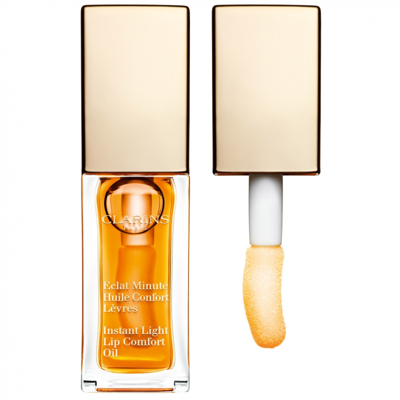 Clarins Instant Light Lip Comfort Oil i gruppen Makeup / Läppar / Läppbalsam hos Bangerhead (B011729r)