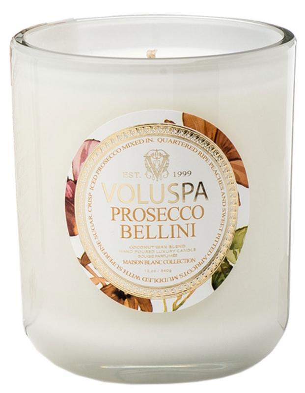 Voluspa Prosecco Bellini i gruppen Parfym / Hem / Doftljus hos Bangerhead (B012020r)