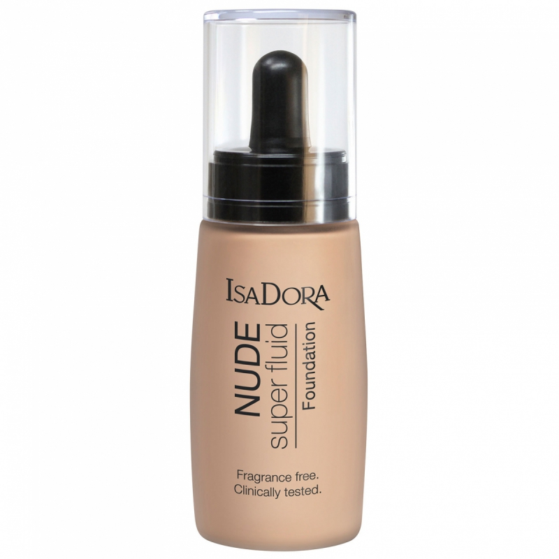 IsaDora Nude Fluid Foundation i gruppen Makeup / Bas / Foundation hos Bangerhead (B012067r)