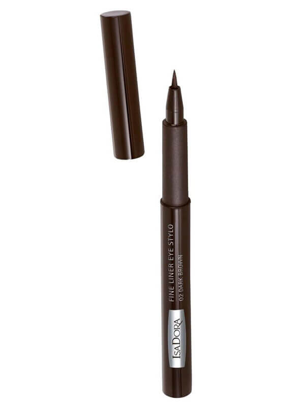 IsaDora Fine Liner Stylo - 02 Dark Brown