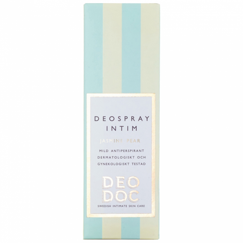 DeoDoc Deospray Intimate Jasmine Pear (50ml) i gruppen Parfym & doft / Damparfym / Deodorant för henne hos Bangerhead (B012172)