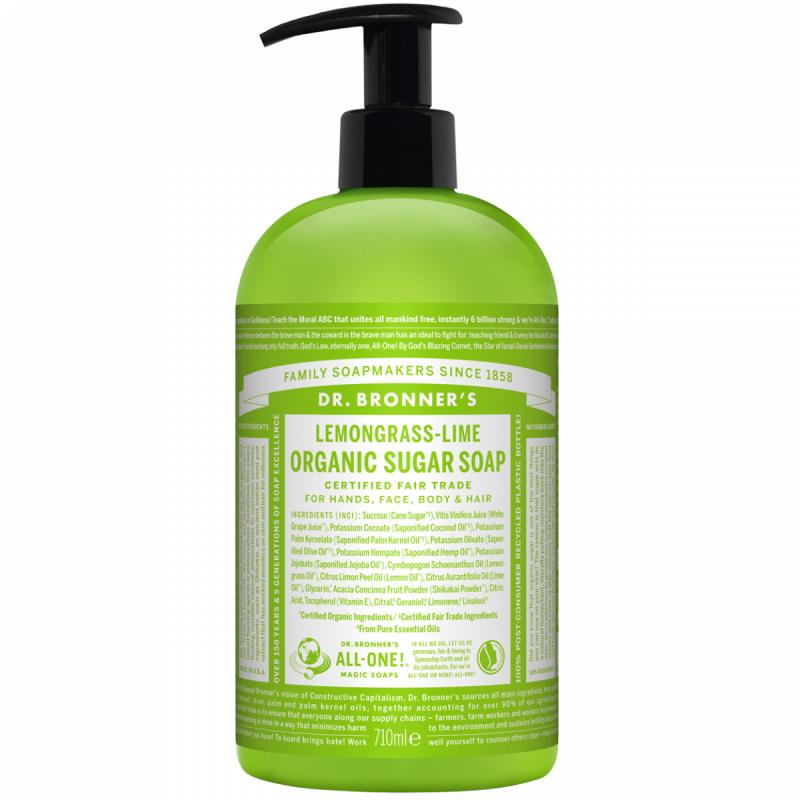 Dr. Bronner'S Shikakai Soap - Lemongrass Lime (709ml)
