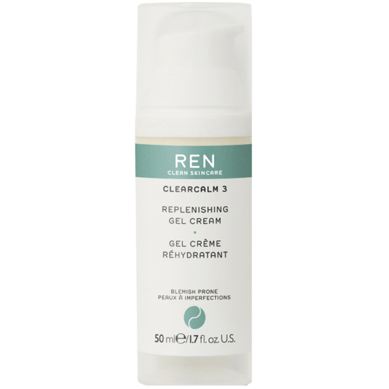 REN Clear Calm 3 Replenishing Gel Cream (50ml)