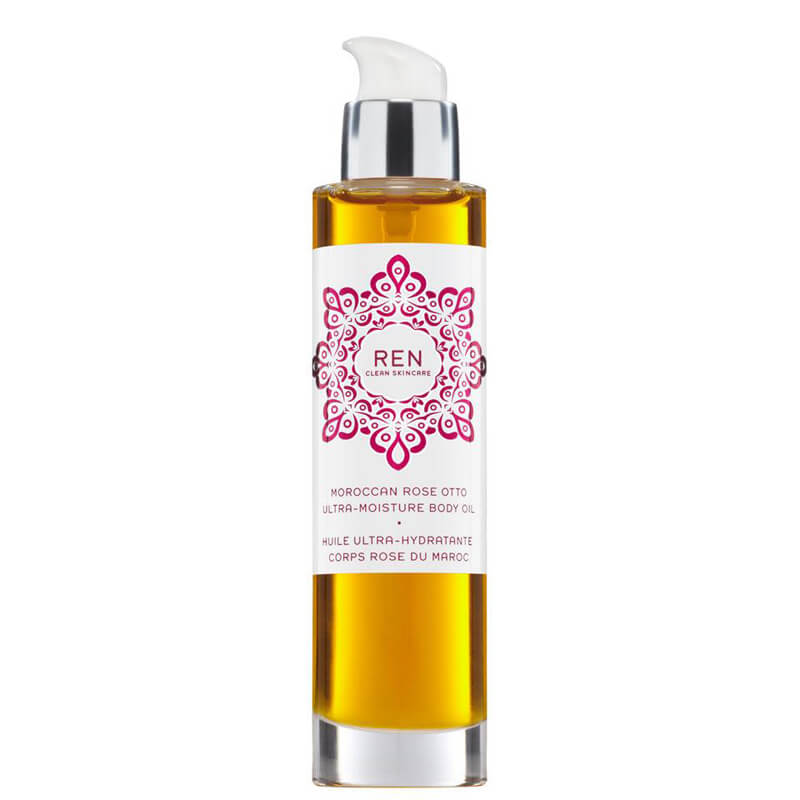 REN Moroccan Rose Otto Ultra-Moisture Body Oil (100ml)
