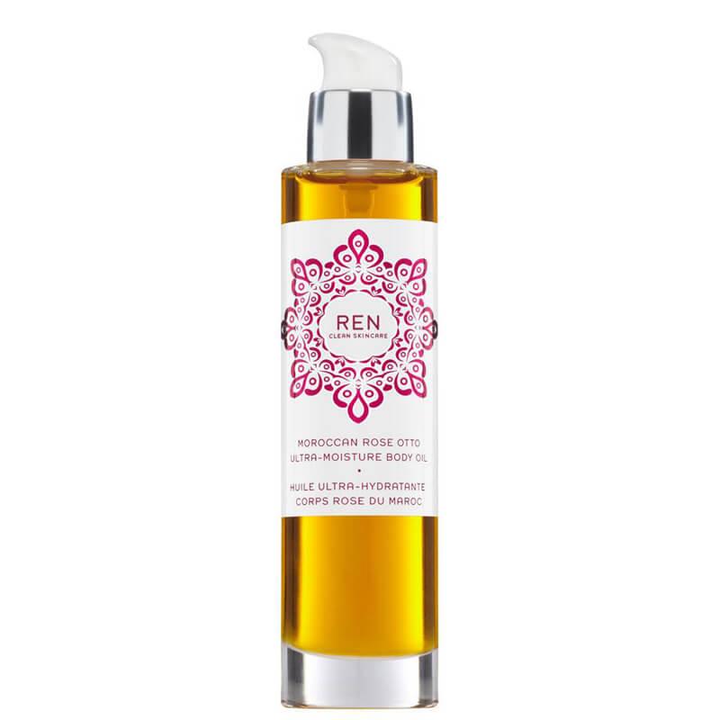 REN Moroccan Rose Otto Ultra-Moisture Body Oil (100ml)