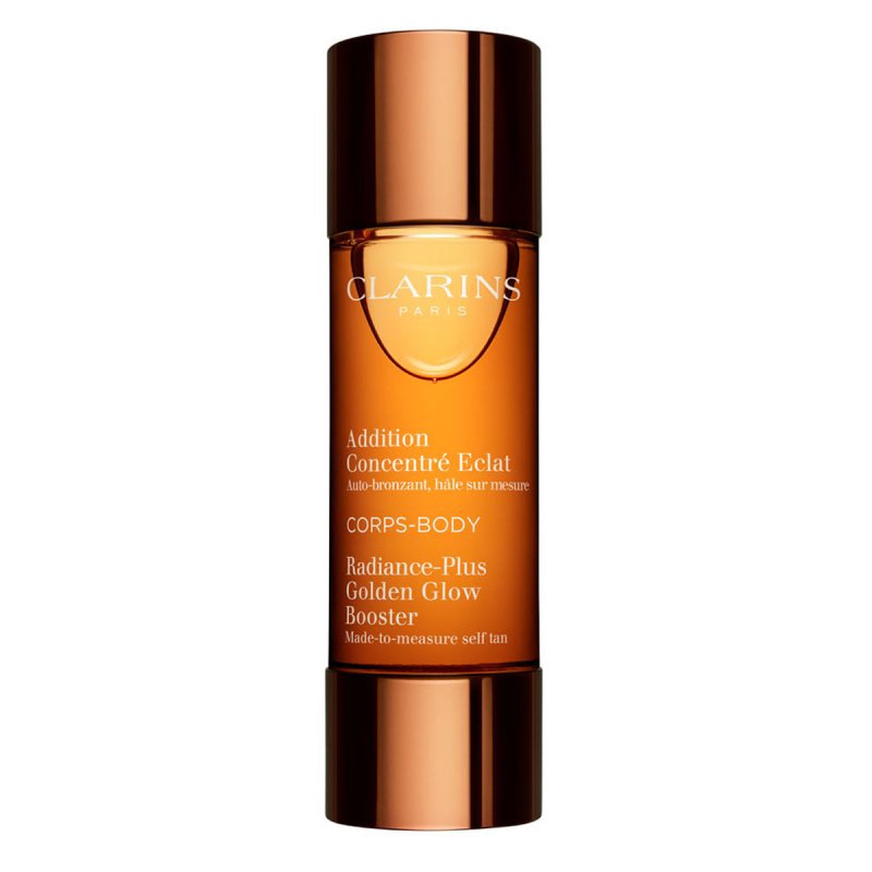 Clarins Golden Glow Booster Body (30ml) i gruppen Kroppspleie & spa / Sol & tan for kropp / Selvbruning for kropp hos Bangerhead.no (B014055)