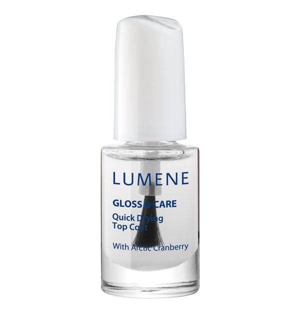 Lumene GlossAndCare Nail Care - Quick Drying Top Coat