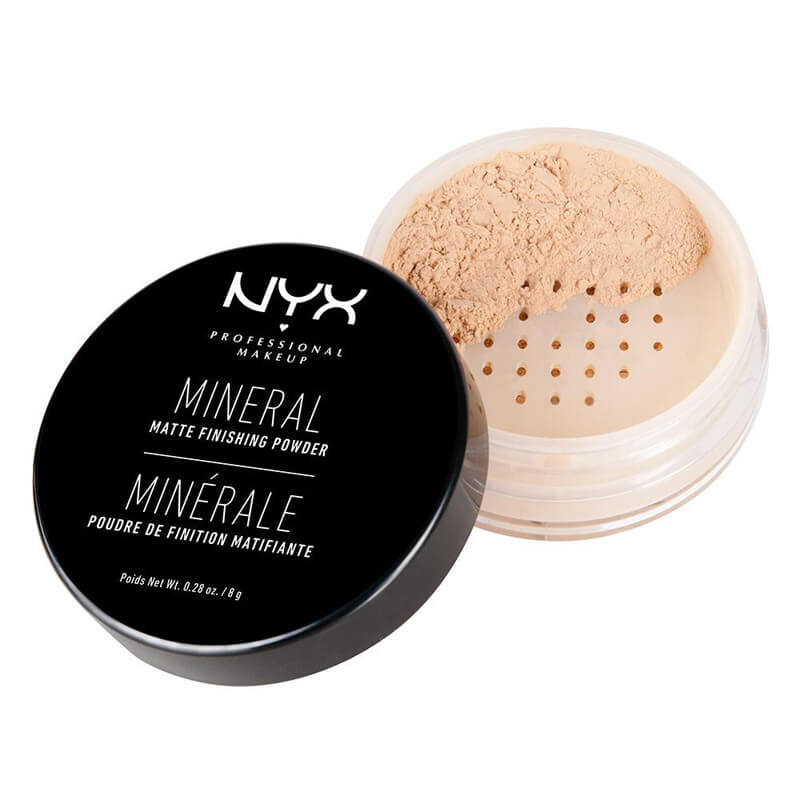 NYX Professional Makeup Mineral Finishing Powder i gruppen Makeup / Base / Pudder hos Bangerhead.no (B014351r)