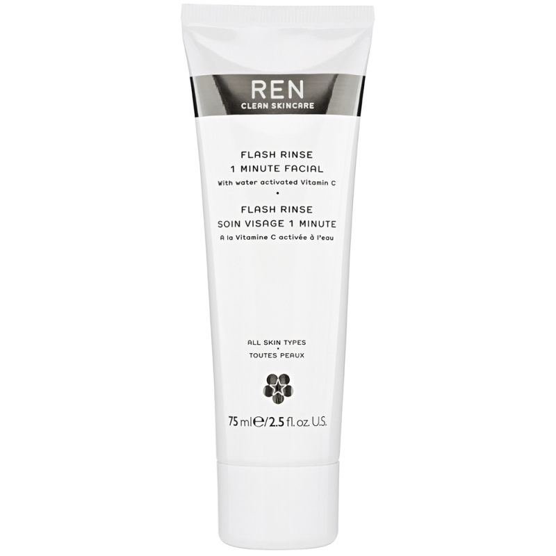 REN Flash Rinse 1 Minute Facial (75ml)