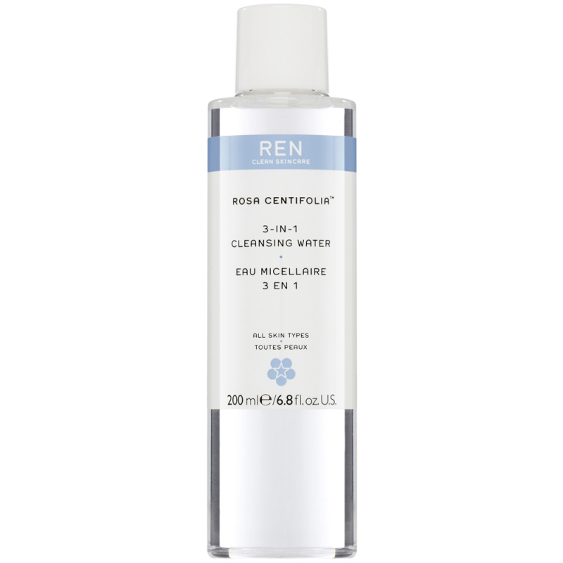 REN Rosa Centifolia 3-In-1 Cleansing Water (200ml)