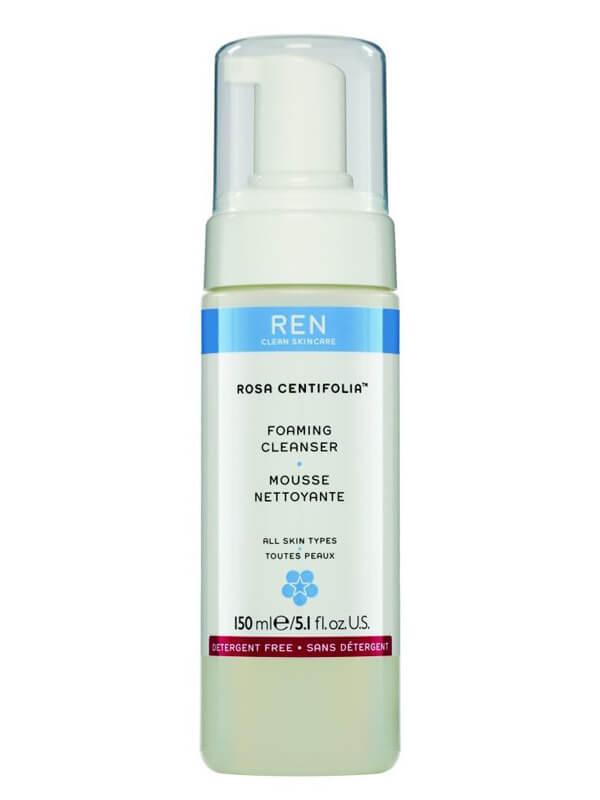 REN Rosa Centifolia Foaming Cleanser (150ml) i gruppen Hudpleie / Ansiktsrens / Rengjøringsskum hos Bangerhead.no (B014716)