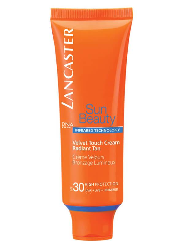 Lancaster Velvet Touch Cream Face SPF 30 (50 ml) i gruppen Hudvård / Sol & tan för ansikte / Solskydd & hudkräm med SPF hos Bangerhead (B014787)
