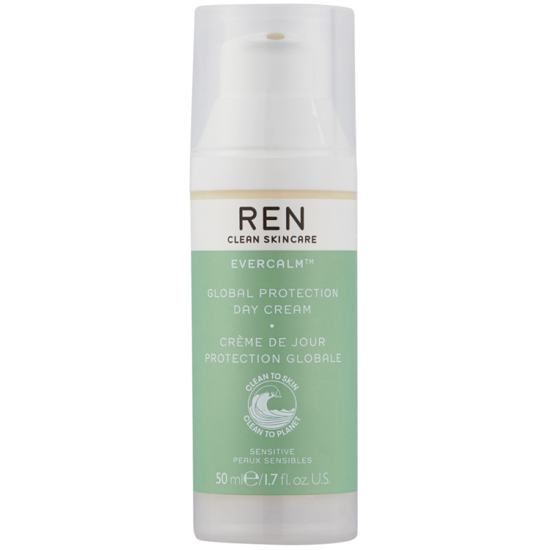 REN Evercalm Global Protection Day Cream (50ml) i gruppen Hudpleie / Fuktighetskrem / Dagkrem hos Bangerhead.no (B015072)