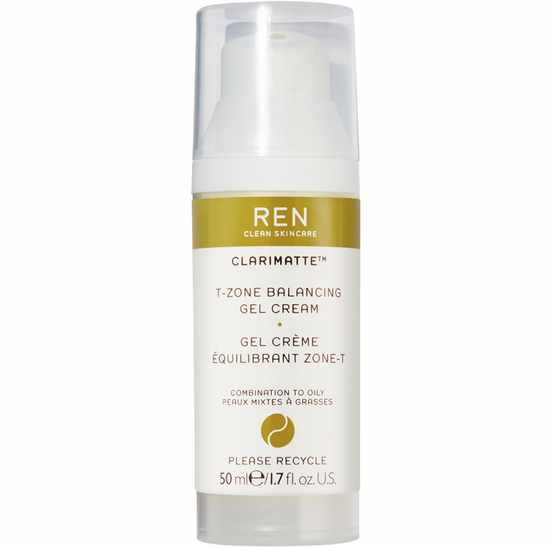 REN Clarimatte T-Zone Balancing Gel Cream (50ml)