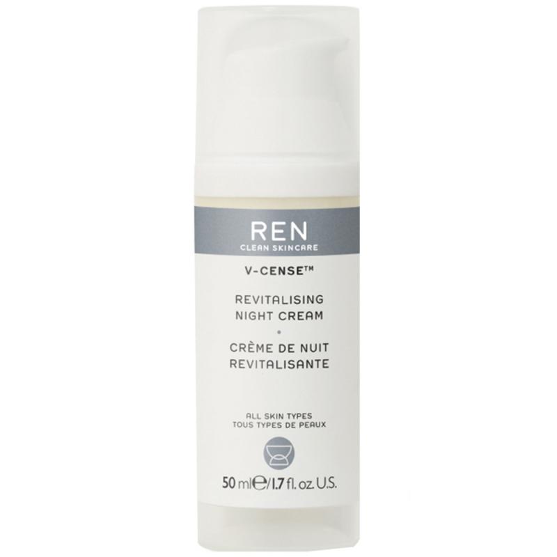 REN V-Cense Revitalising Night Cream (50ml) i gruppen Hudpleie / Fuktighetskrem / Nattkrem hos Bangerhead.no (B015075)