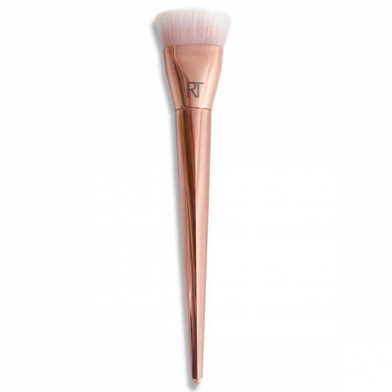 Real Techniques Bold Metal flat contour brush i gruppen Makeup / Borstar & verktyg / Borstar för ansiktsmakeup hos Bangerhead (B015282)