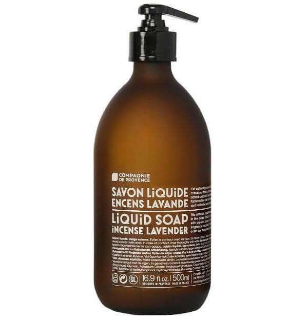 Compagnie de Provence Liquid Soap Incense Lavender i gruppen Kroppspleie  / Hender & føtter / Håndsåpe hos Bangerhead.no (B016881r)