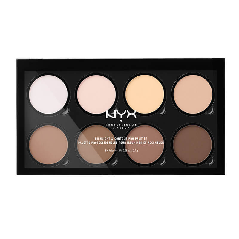 NYX Professional Makeup Highlight And Contour Pro Palette