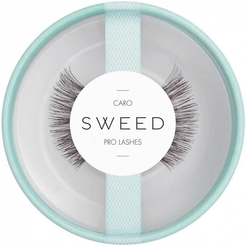 Sweed Lashes - Caro i gruppen Makeup / Øyne / Løsvipper hos Bangerhead.no (B017349)