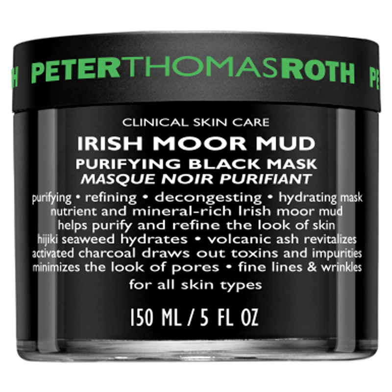 Peter Thomas Roth Irish Moor Mud Purifying Black Mask (150ml) i gruppen Hudpleie / Ansiktsmaske / Leirmaske hos Bangerhead.no (B017576)