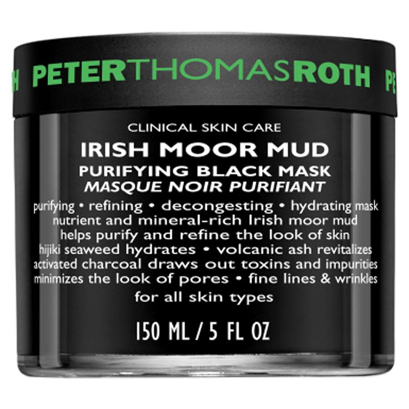 Peter Thomas Roth Irish Moor Mud Purifying Black Mask (150ml) ryhmässä Ihonhoito / Kasvonaamiot / Savinaamiot at Bangerhead.fi (B017576)