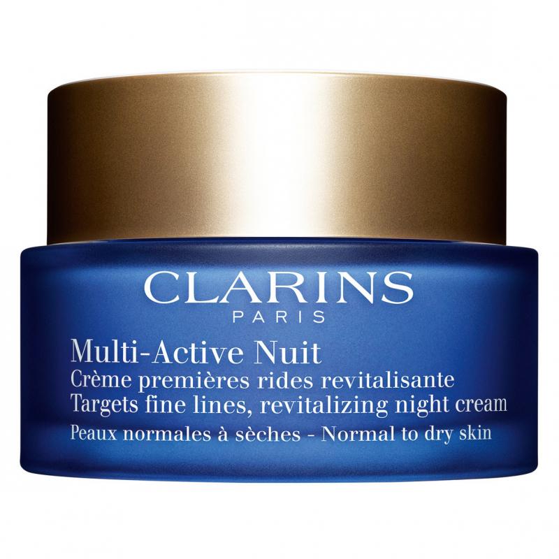 Clarins Multi-Active Nuit Comfort Normal/Dry Skin (50ml) i gruppen Hudvård / Ansiktsåterfuktning / Nattkräm hos Bangerhead (B017583)