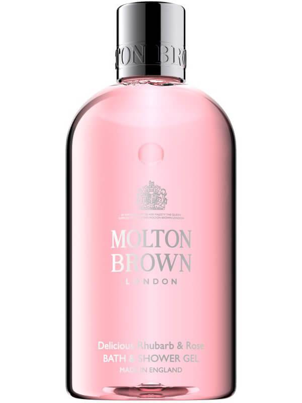Molton Brown Rhubarb & Rose Bath & Shower Gel (300ml) ryhmässä Vartalonhoito  / Vartalonpuhdistus & -kuorinta / Suihkusaippua at Bangerhead.fi (B017934)
