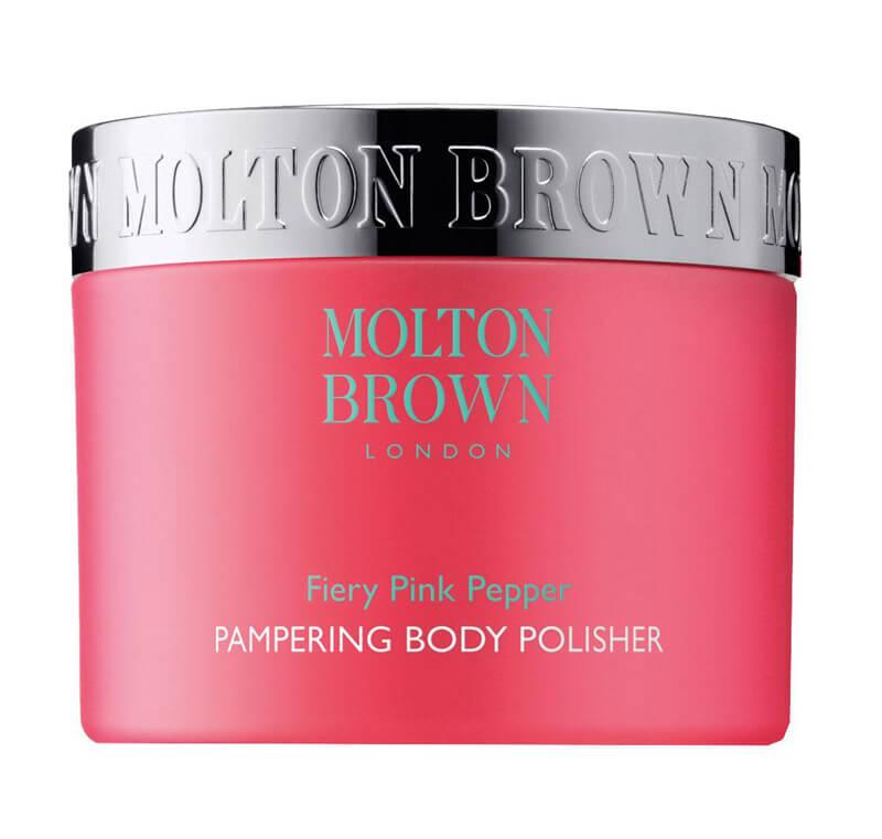 Molton Brown Pink Pepper Body Polisher (250ml) ryhmässä Vartalonhoito  / Vartalonpuhdistus & -kuorinta / Vartalonkuorintatuotteet at Bangerhead.fi (B017942)