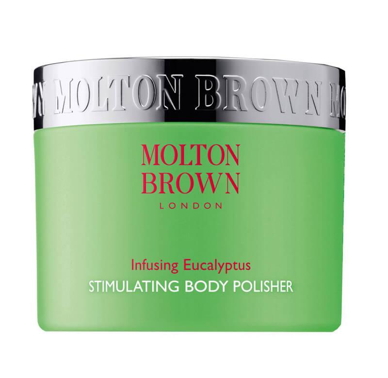 Molton Brown Eucalyptus Body Polisher (250ml) i gruppen Kroppspleie  / Kroppsrengjøring og skrubb / Bodyscrub & peeling hos Bangerhead.no (B017944)