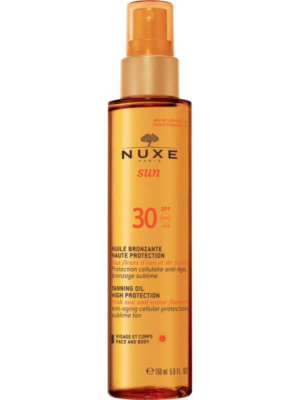 NUXE Sun Tanning Oil Face & Body SPF30 (150ml)