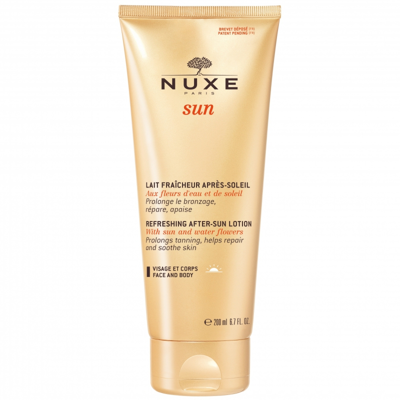 NUXE Sun Refreshing After-Sun Lotion Face & Body (200ml)