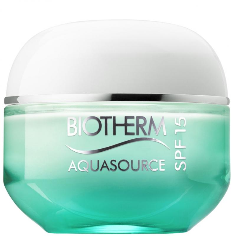 Biotherm Aquasource Fresh Cream SPF15 (50ml) i gruppen Hudvård / Ansiktsåterfuktning / Dagkräm hos Bangerhead (B018099)