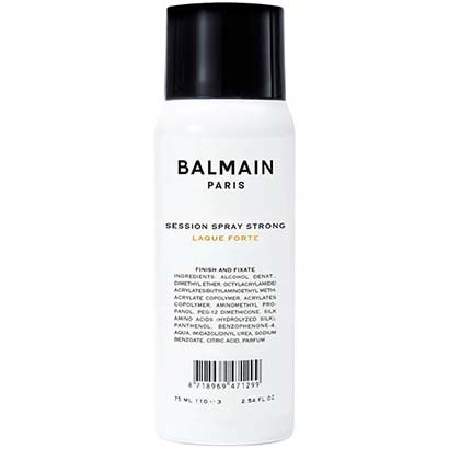 Balmain - Session Spray  Strong Mini 75ml i gruppen Hårvård / Styling / Hårspray hos Bangerhead (B018418)