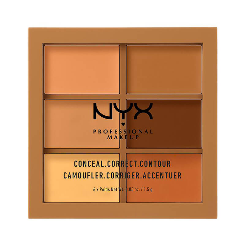 NYX Professional Makeup 3C Palette - Conceal, Correct, Contour i gruppen Makeup / Kinder / Contouring hos Bangerhead (B018552r)