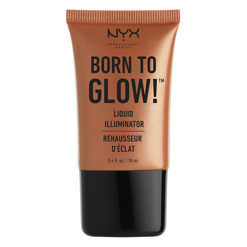 NYX Professional Makeup Born To Glow Liquid Illuminator i gruppen Makeup / Kinder / Highlighter hos Bangerhead (B014326r)