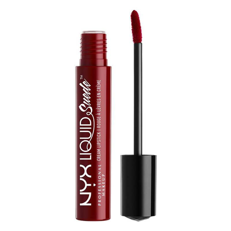 NYX Professional Makeup Liquid Suede Cream Lipstick  i gruppen Smink / Läppar / Liquid lipstick hos Bangerhead (B018830r)