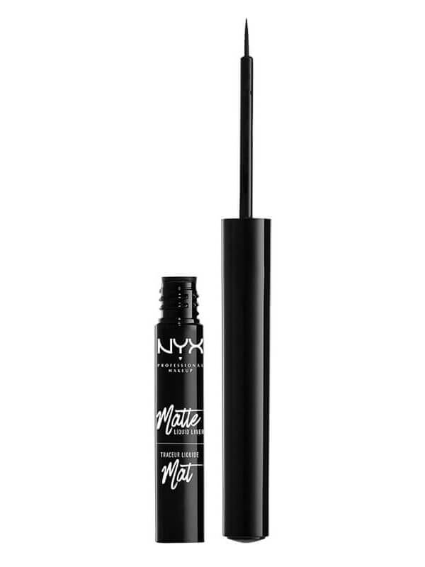 NYX Matteliquid Liner - Black i gruppen Makeup / Ögon / Eyeliner hos Bangerhead (B018894)