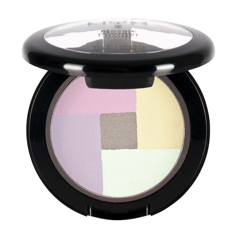 NYX Professional Makeup Mosaic Powder Blush i gruppen Makeup / Kinn / Highlighter hos Bangerhead.no (B018951r)